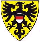 Das Wappen der Stadt Reutlingen