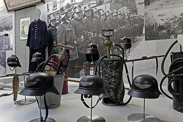 Die Feuerwehr während des zweiten Weltkrieges