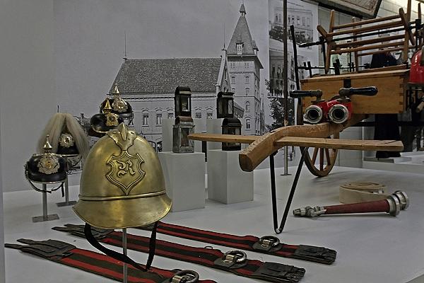 Messinghelm der Reutlinger Feuerwehr aus dem 19. Jahrhundert