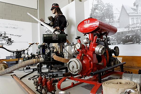Blick in das Feuerwehrmuseum