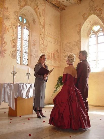 Brautpaar in der Stephanuskirche