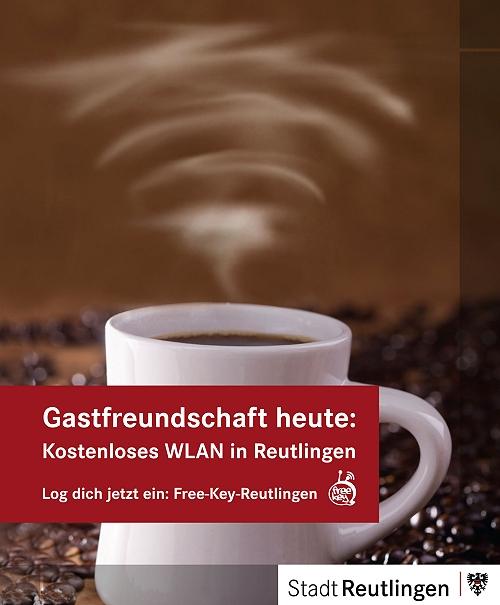 Freies WLAN mit Free-Key in Reutlingen