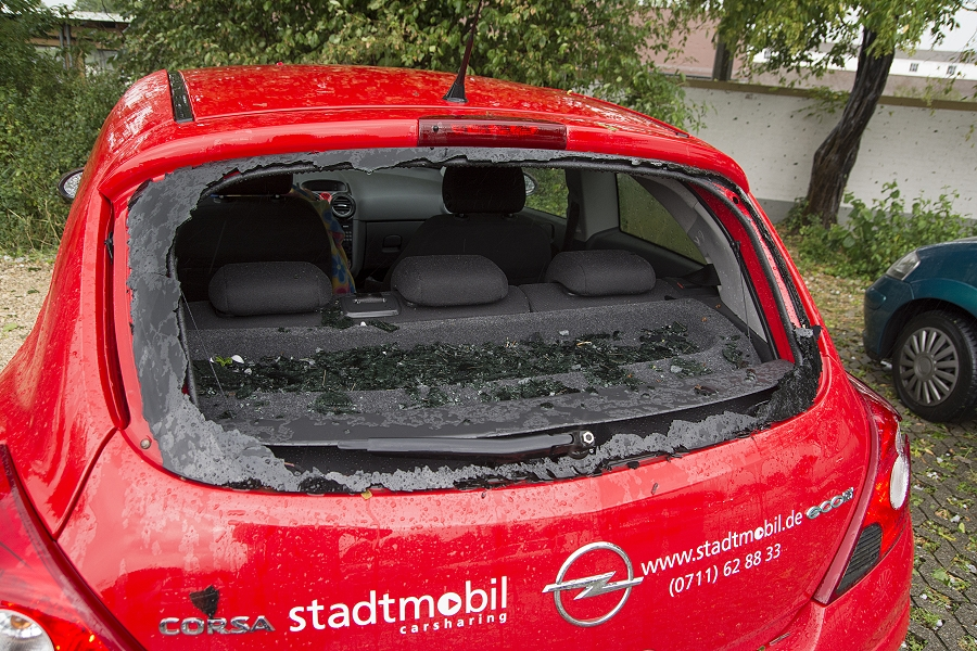 Hagelsturm am 28 7 2014 - Foto Bastian Werner