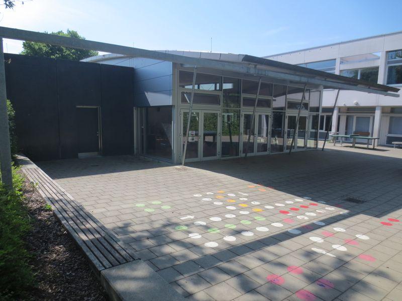 Eingangsbereich Mensa