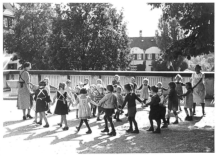 Die Kita Gmindersdorf im Jahre 1941