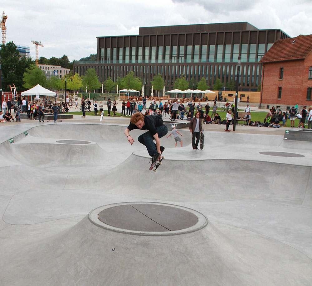 Skateanlage im Bürgerpark