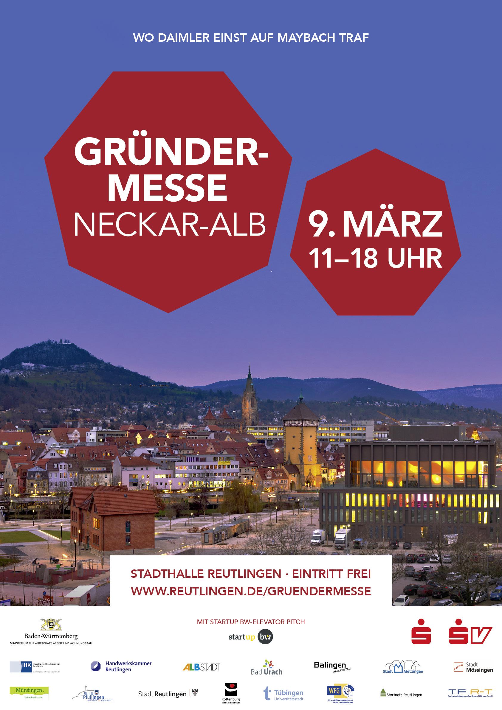 Plakat Gründermesse 2018