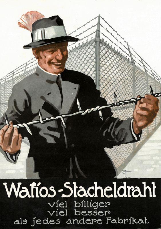 Werbung Firma Wafios 1920er Jahre HMR o.Nr.