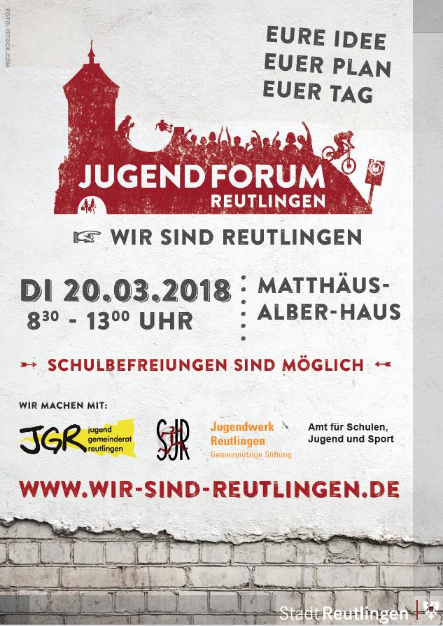 Jugendforum 2018 Plakat