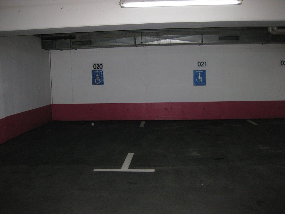 2 Behindertenparkplätze in der Tiefgarage Kaiserpassage