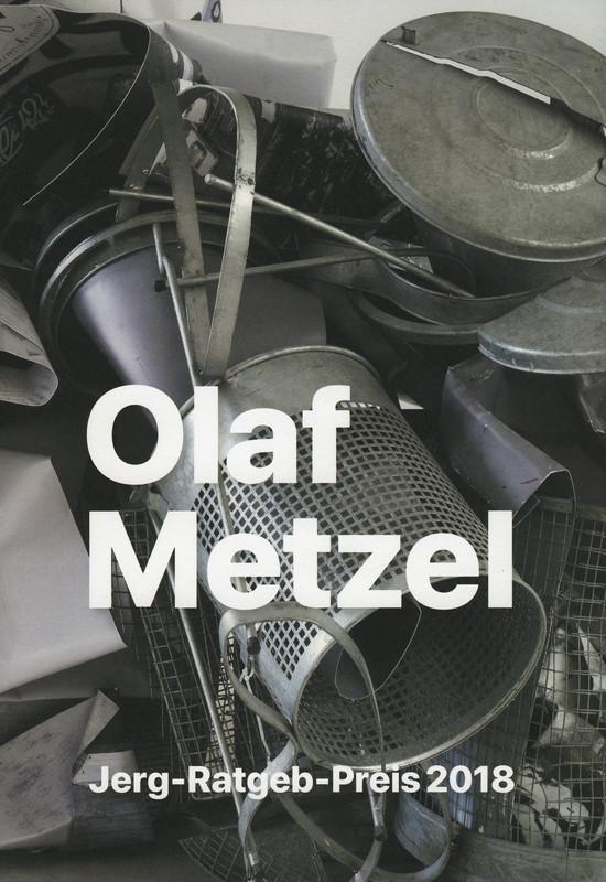Katalogeinband Olaf Metzel - Mir ist das schwarze Quadrat lieber als die rote Fahne