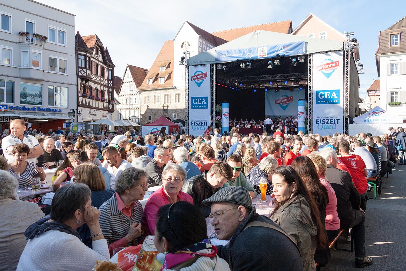 Stadtfest Reutlingen Marktplatz