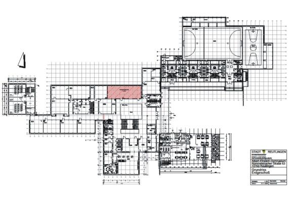 albert einstein gymnasium einbau einer bibliothek mediothek stadt reutlingen. Black Bedroom Furniture Sets. Home Design Ideas