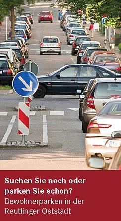Suchen Sie schon oder parken Sie schon? Bewohnerparken in der Oststadt