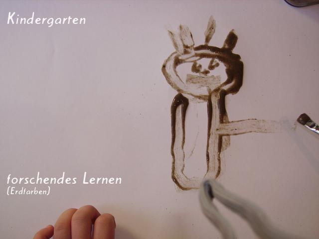 Kindergarten- forschendes Lernen (Erdfarben)