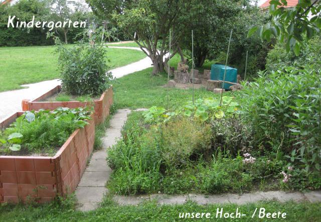 Kindergarten - unsere Hoch- /Beete