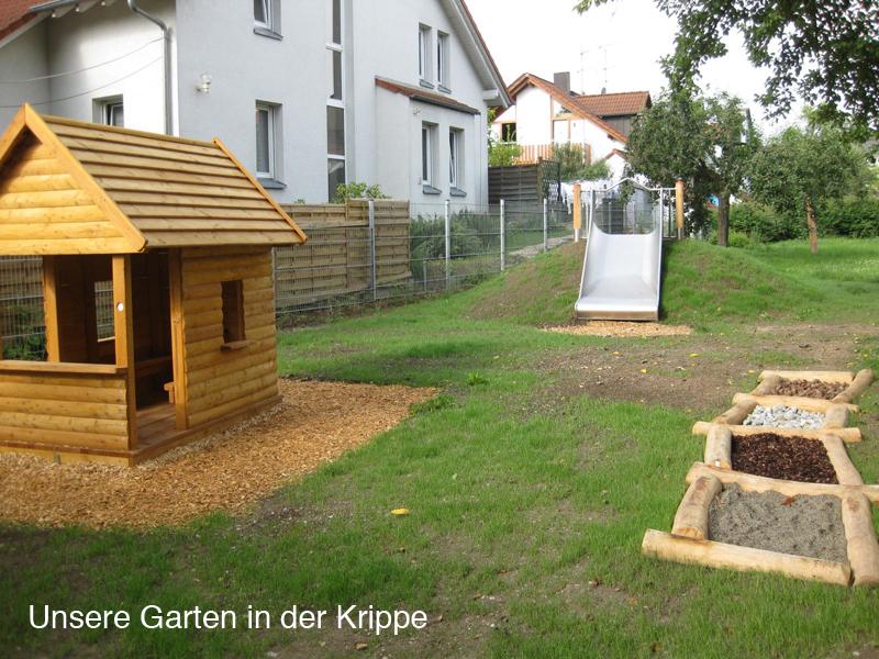 Unser Garten in der Krippe