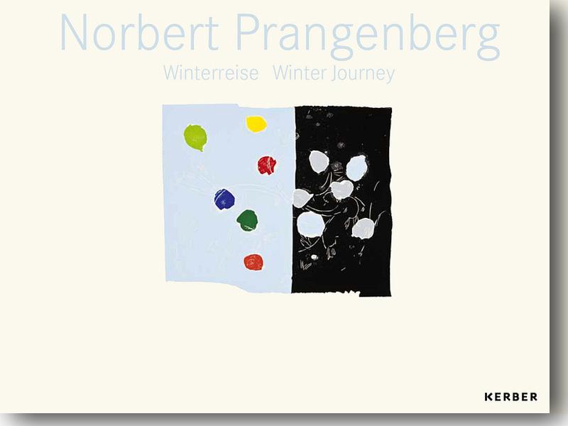 Katalogeinband Norbert Prangenberg. Winterreise