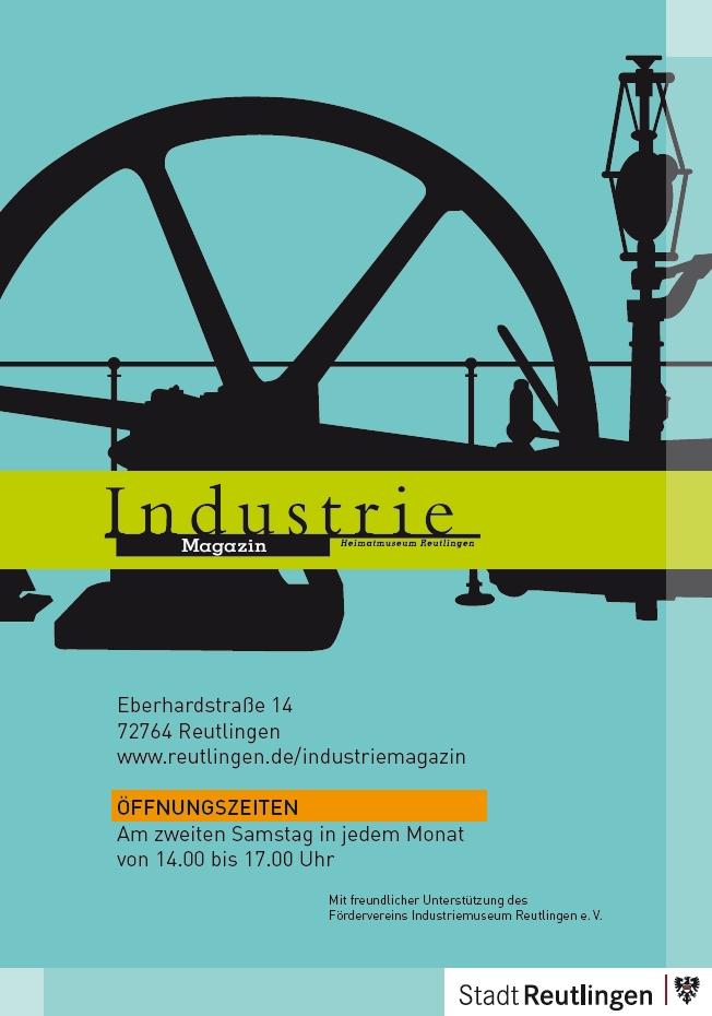 Plakat Industriemagazin