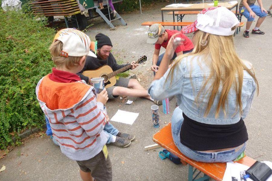 musikalische Begleitung in Burzelbach