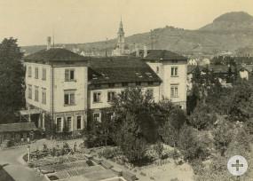 Das Pomologische Institut im Jahr 1904