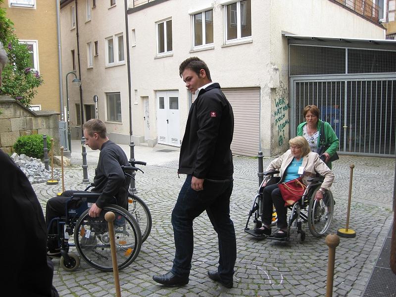 Schulung der Mobilitätsbegleiter im April 2014