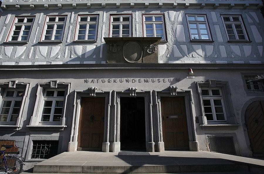 Eingang des Naturkundemuseums Reutlingen