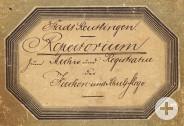 Repertorium (Titel) von 1893