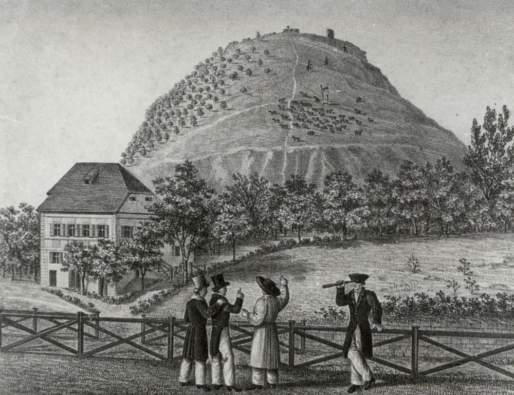 Lithographie um 1835 (Württembergische Landesbibliothek, Graph. Sammlung)