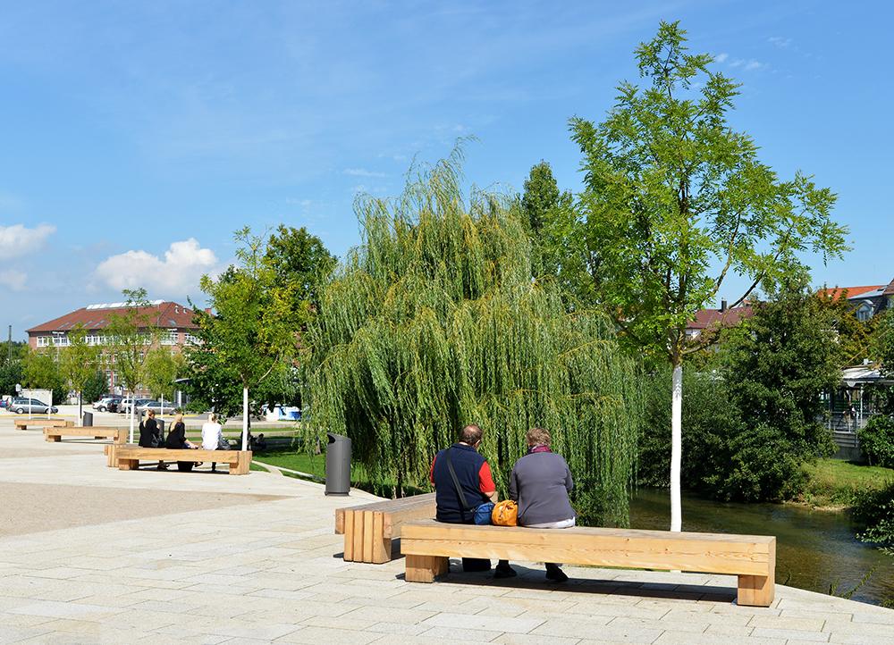 Echaz und Bürgerpark im Grünen
