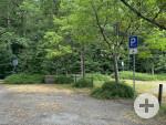 1 Behindertenparkplatz beim Naturtheater