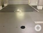 1 Behindertenstellplatz in der Tiefgarage Stadthalle