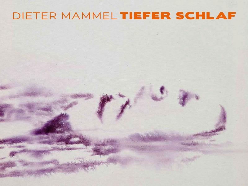 Katalogeinband - Dieter Mammel. Tiefer Schlaf