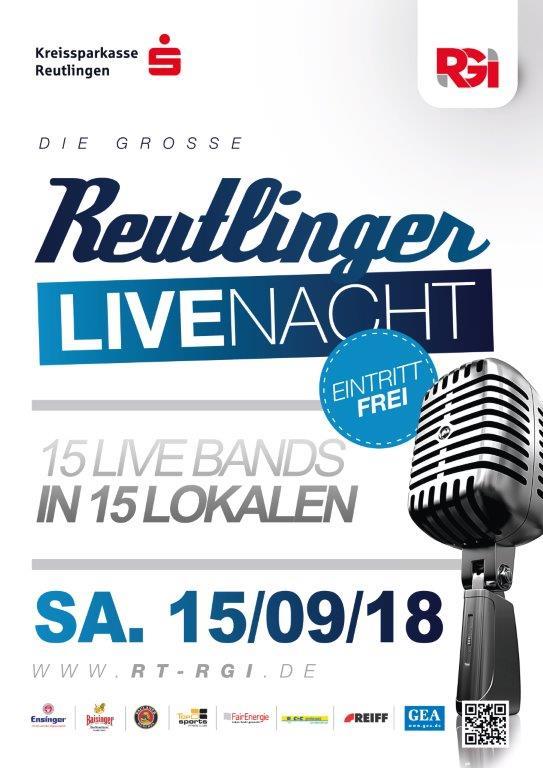 Reutlinger Live-Nacht