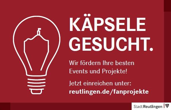 Käpsele gesucht. Wir fördern Ihre besten Events und Projekte!