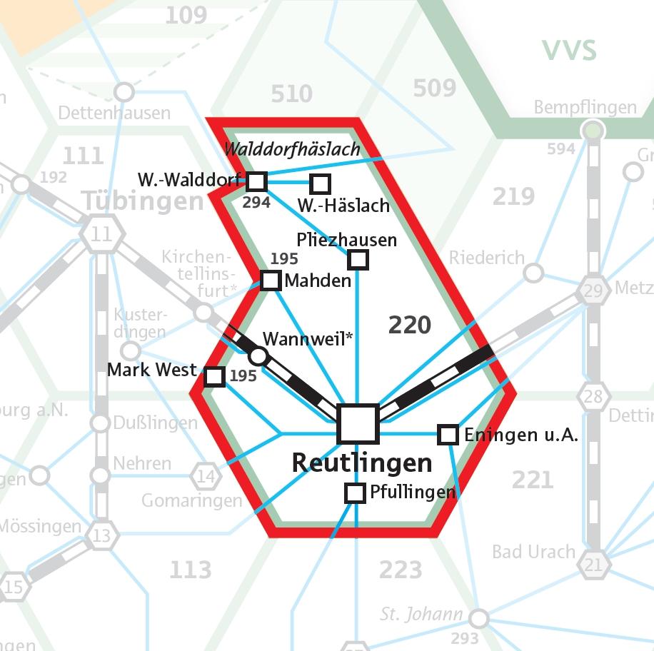 Der neue Nahverkehr: Die Wabe 220