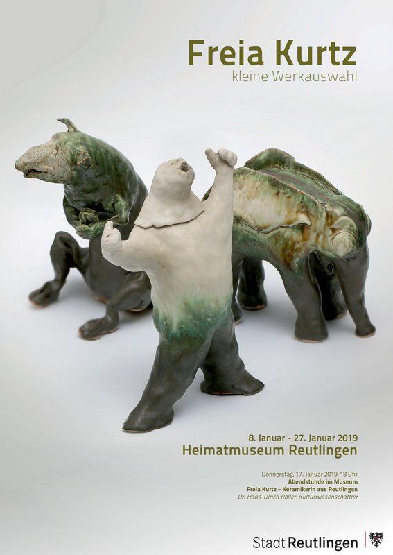 Plakat HMR Austellung Freia Kurtz