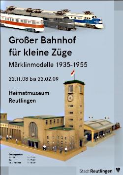 Ausstellung im Heimatmuseum - Großer Bahnhof für kleine Züge