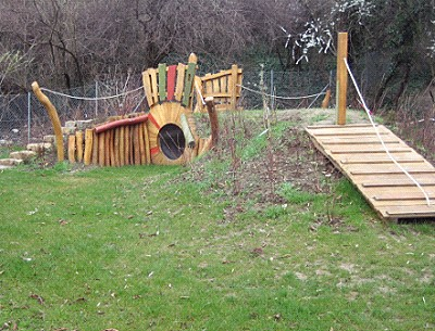 Garten der Kindertagesstätte Theodor-Fischer-Straße