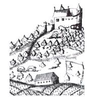 Die Burg Achalm um 1030