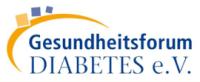 Logo Gesundheitsforum Diabetes e. V.