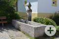 Brunnen mit Trog Clemensstraße