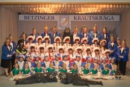 Die Gruppen der Betzinger Krautskräga