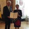 Ministerpräsident Winfried Kretschmann und Barbara Bosch