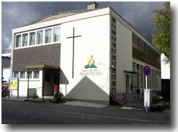 Kirchengebäude in der Beutterstr. 5