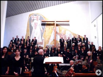 Konzert 2010 in der Auferstehungskirche, Reutlingen