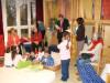 Bürgermeister Hahn in der Kindertagesstätte Römerschanze