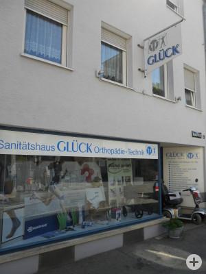 Niederlassung Sanitätshaus Glück / Orthopädie-Technik