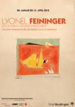 Ausstellungsplakat - Lyonel Feininger