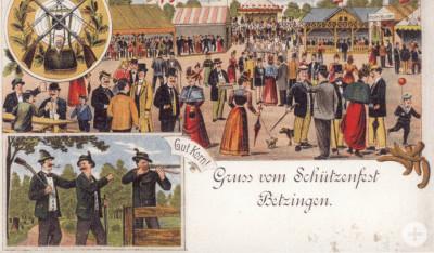 Betzinger Schützenfest Anno 1901
